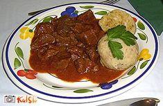 Recept: Goveji golaž - Kulinarika.net Steak, Pork, Beef, Recipes, Kale Stir Fry, Food Recipes, Steaks, Rezepte, Ox