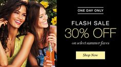 Flash Sale: one day only! 30% off select products. Free shipping with $40 order. Shop now. youravon.com/taylorenterprises