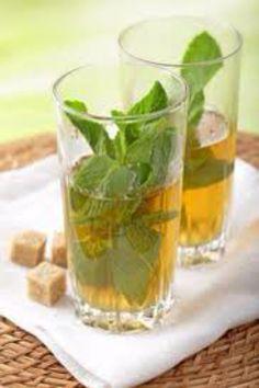 Morroccan mint tea. The a la menthe