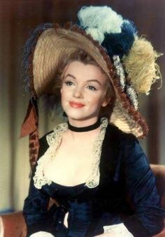 19th century-style bodice Marilyn modeled in a 1956 photo session with Jack Cardiff for the film The Prince and the Showgirl.