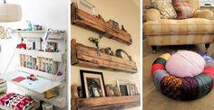 12 oryginalnych pomysłów na meble i dodatki do domu, które wykonasz z niepotrzebnych rzeczy