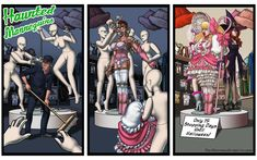 Haunted Mannequins by DovSherman on DeviantArt Transgender Comic, Tg Tales, Tg Stories, Gender Stereotypes, Tg Captions, Sexy Cartoons, Some Pictures, Comic Art, Animation
