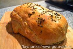 Хлеб с сырной начинкой а-ля Стромболи. Фотография рецепта
