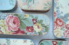 Such Pretty Things: Pretty Storage: Vintage Glove Boxes