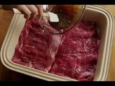How to Make a London Broil Marinade Presented by #Bally_Chohan