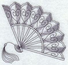 Victorian Treasures Fan