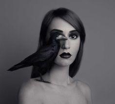 Animeyed: Fine Art Self-Portraits by Flora Borsi #inspiration #photography