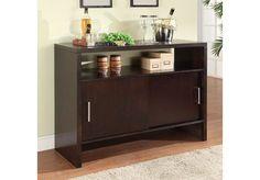 Modus Furniture Bossa Sideboard in Dark Chocolate