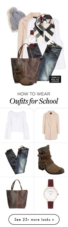 """""""Back to School...bye bye holidays......"""" by tgtigerlily on Polyvore featuring Francesca's, Theory, Free People, Marc by Marc Jacobs, Overland Sheepskin Co., Miz Mooz, Burberry and Olivia Burton"""