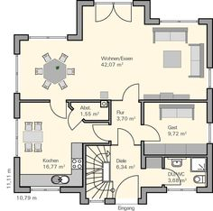 Bedrooms Left, Living Right | House Layouts | Pinterest | Mehr Ideen Zu  Grundrisse
