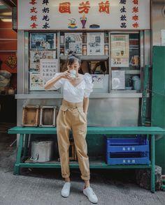 Hong Kong with @tsangtastic Hongkong Outfit Travel, Taipei Travel, Travel Ootd, Travel Outfit Summer, Summer Outfits, Japan Summer Outfit, Macau Travel, Tokyo Japan Travel, Singapore Travel