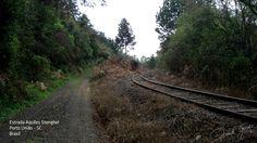 Estrada Rural e de Ferro na Comunidade de Aquiles Stenghel, interior de Porto União - Santa Catarina - Brasil