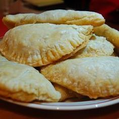 """Argentine Meat Empanadas ~ Recipe by Liliana  """"My original version for the Argentinean recipe. Rich and delicious. Any meat can be used for this recipe, just be sure to cut it up into tiny pieces."""" (Check the frozen section at you grocery store to see if they carry Goya brand empanada dough)."""