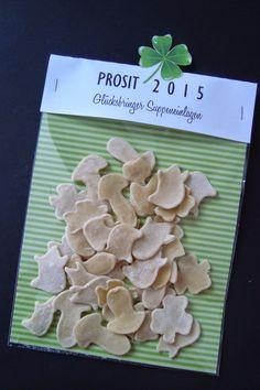 Kleefalter: Prosit 2015 - Glücksbringer Suppeneinlagen