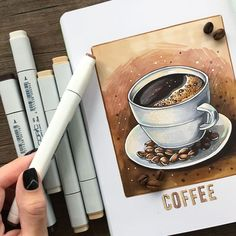 Ideas for drawing sketches pencil creative illustrations Copic Marker Drawings, Pencil Art Drawings, Art Sketches, Copic Markers, Hair Drawings, Alcohol Markers, Copic Kunst, Copic Art, Copic Sketch