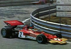 Emerson Fittipaldi, Lotus Montjuich Park His race ended on Lap 54 when the rear suspension cross-member failed. Sport Cars, Race Cars, Motor Sport, Formula One Champions, F1 Lotus, Emo, Formula 1 Car, Checkered Flag, Automotive Art