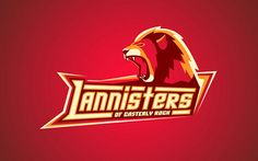 Game Of Thrones Houses As Sports Team Logos