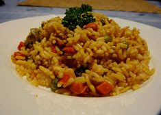 Fried Rice, Risotto, Fries, Ethnic Recipes, Peta, Food, Red Peppers, Essen, Meals