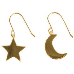 Sophie By Sophie Moon Star Earring ($120) ❤ liked on Polyvore featuring jewelry, earrings, accessories, fillers, gold, womens-fashion, sophie by sophie, star jewelry and star earrings