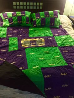 quilt made out of crown royal bags | Here are all the Crown ... : quilt made from crown royal bags - Adamdwight.com