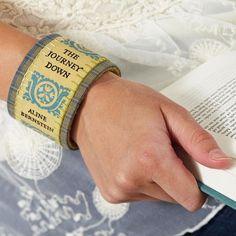 Turn a fave book into a trendy bracelet!