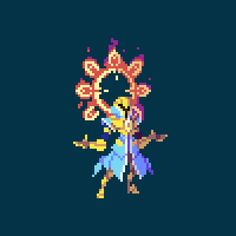"Pixel art ""Solarius"" for the game Duelyst Arte Indie, 8 Bit Art, Anime Pixel Art, Pixel Animation, Pixel Art Games, Pixel Design, Modelos 3d, Game Concept Art, Art Tutorials"