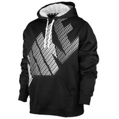 Nike KO Block Hoodie - Men's - Black/White