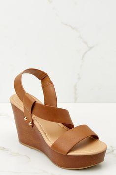 Trendy Brown Platform Wedges - Cute Wedges - Wedges - $32.00 – Red Dress Boutique