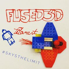 #skysthelimit #3dfilament www.fused3d.com