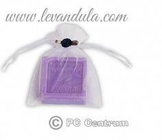 levandulovyobchod / Levanduľové mini mydielko s ružičkou