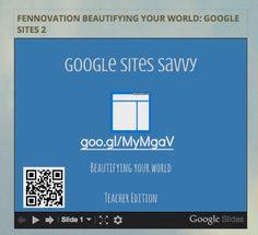 Google Sites Training - Fennovation