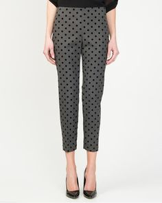 Polka Dot Crop Pant- I NEED THESE