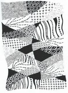 All sizes | No border zentangle | Flickr - Photo Sharing!