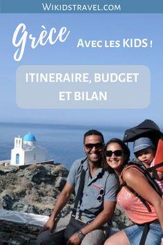 Vous rêvez d'un voyage en Grèce en famille ? Découvrir les merveilles des îles des Cyclades ? Retrouvez le témoignage d'une famille de 3 personnes ! Itinéraire, budget, coups de coeur, photos et adresses kidfriendly... tout est là pour vous aider à préparer votre prochaine aventure en Grèce avec vos enfants ! #voyage #voyageenfamille #grèce #travel #roadtrip #voyageavecenfants #europe #cyclades #île #partirenfamille Mykonos, Road Trip, Voyage Europe, Coups, Summer, Movie Posters, Movies, Photos, Inspiration