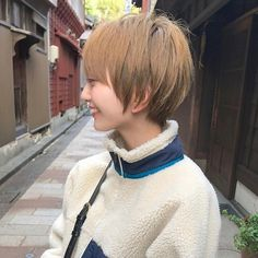 Pin on ヘア Pin on ヘア Pixie Hairstyles, Pixie Haircut, Short Hairstyles For Women, Easy Hairstyles, Haircuts, Short Haircut Styles, Short Bangs, Short Hair Cuts, Hair Day