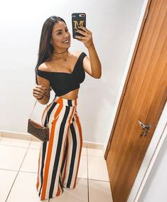 Simple Summer to Spring Outfits to Try in 2019 Night Outfits, Classy Outfits, Chic Outfits, Spring Outfits, Trendy Outfits, Trendy Fashion, Girl Fashion, Fashion Outfits, Fashion Clothes