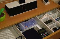 Organising drawers