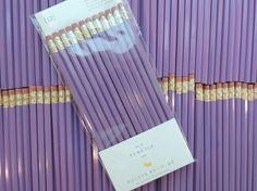 Purple pencils, set of 12, neat school supplies from PreppyProdigy on Etsy  #pencils #preppyprodigy #purple #school #supplies Stationary School, Cute Stationary, College School Supplies, Cute School Supplies, School Suplies, Perfect Pink, School Shopping, School Organization, School Classroom