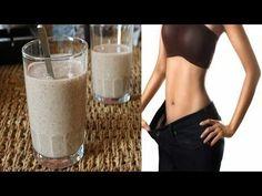 Este batido desinflama tu vientre, limpia el colon, y elimina toda la grasa en una sola semana - YouTube