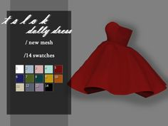 /A cute puffy dress Found in TSR Category 'Sims 4 Female Everyday' Sims 4 Tsr, Sims Cc, Sims 4 Mods Clothes, Sims 4 Clothing, Toddler Hair Sims 4, Sims 4 Cas Mods, Sims 4 Cc Folder, The Sims 4 Cabelos, Muebles Sims 4 Cc