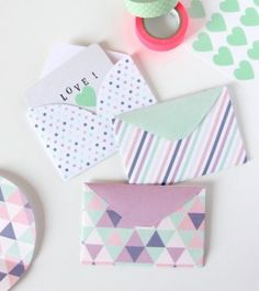 40 Free Printable Envelopes & Liners - LDR Magazine                                                                                                                                                                                 More