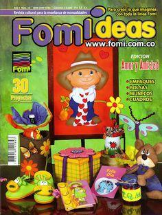 http://tuimaginaycrea.blogspot.mx/2014/01/revista-regalo.html Foami