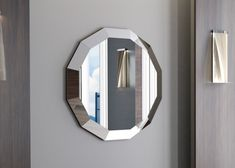 Miroir, mod: ANSE Home Decor, Walnut Wood, Solid Wood, Contact Form, Mirrors, Crystals, Beveled Mirror, Interior Design, Home Interior Design