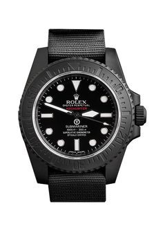 Rolex Submariner (time only), modified by Prohunter