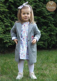 Płaszczyk i sukienka