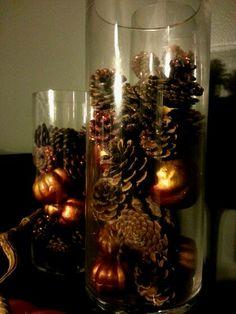 More pine cones