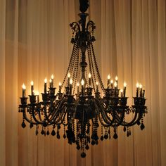A46-BLACK/490/30  Murano Venetian Style CHANDELIER Chandeliers, Crystal Chandelier, Crystal Chandeliers, Lighting