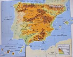 Cabo, Valencia, Diagram, World, Illustration, Mesas, Mountain Range, Pictures Of Maps, Lanzarote