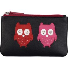 Mala Leather Kyoto Coin Purse AW12 Autumn Winter 2012 - £12.55 available from www.kubi.co.uk - Perfect Christmas presents or birthday gifts for anyone who loves Owls or picture purses.  This small coin purse would make the ideal unique and unusual present for the wife wives daughters teenagers sisters and friends.
