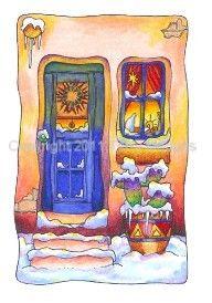 Greeting Card - It's Warm Inside